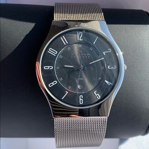 Skagen men's watch ultra slim perfect condition